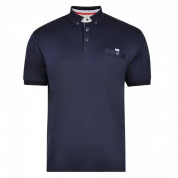 Peter Gribby 100% Cotton Interlock Jersey Polo Shirt