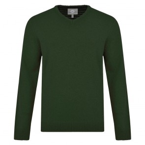 Peter Gribby Lambswool V Neck Jumper