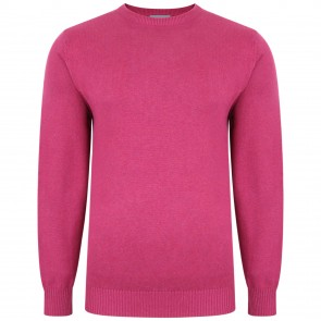 Peter Gribby Premium Combed Cotton Crew Neck Jumper