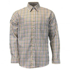 Peter Gribby Supersoft Country Cotton Shirt - Pink